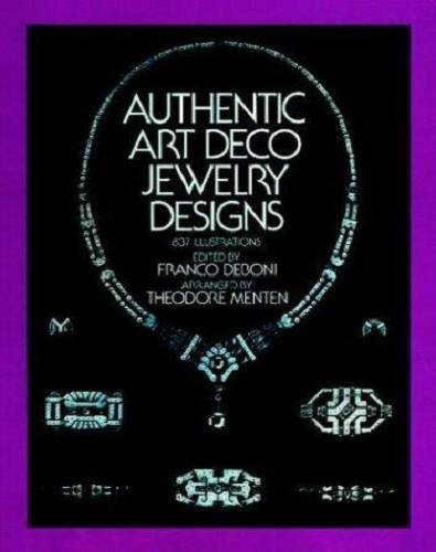 Authentic art deco jewelry designs for Deco design magazine